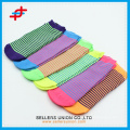 Teenager fashion polyester ankle socks for sport,colorful and cheap