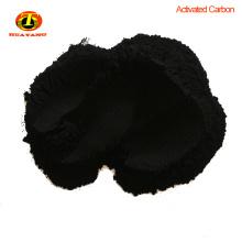 Carbón activado de madera de concha de coco negro para la purificación de agua pura