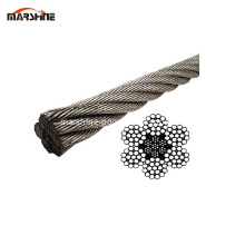 High Tensile Strength Bright Surface Steel Wire Rope