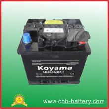 DIN45 (54583) - 45ah 12V JIS / DIN Standard wartungsfreie Autobatterie