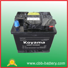 DIN45 (54583) - 45ah 12V JIS/DIN Standard Maintenance Free Car Battery