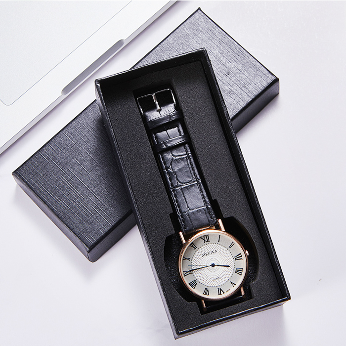 Square Paper Printing Watch Gift Box