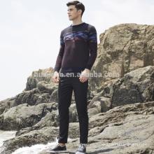 100% кашемир мягкий свитер для мужчин
