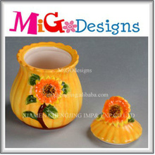 OEM Design Ceramic Container Jar for Gifts