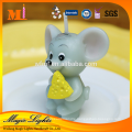 Lighting Candle Cute Mouse Small Zodiac Birthday Candles