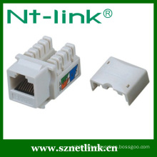 Factory RJ45 Cat5e UTP 90 Degree Keystone Jack