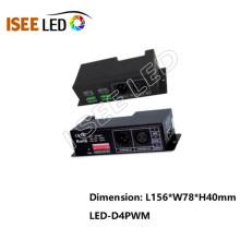 RGBW Strip DMX512 to PWM LED Driver Dimmable