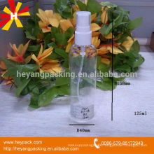 plastic PET spray 120ml bottle