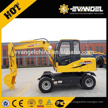 6Ton Wheeled Walking Excavator WYL65 For Sale