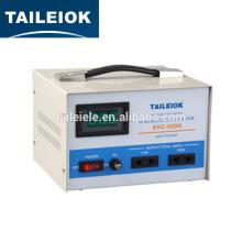 Estabilización del regulador de voltaje de 220V ca