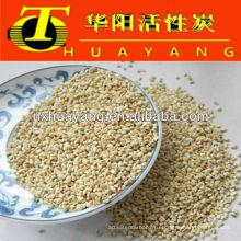 46# гранулы кукурузного початка на поверхности металла полируя