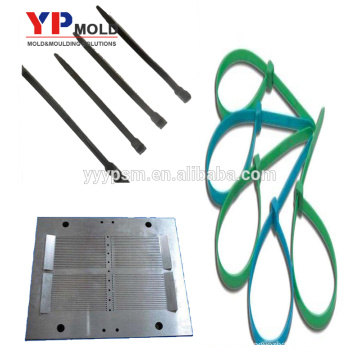 High quality Nylon cable tie plastic injection mould for automotive parts made in China
