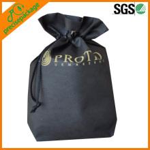 cheap reusable non woven drawstring laundry bags
