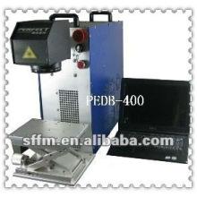 Machine de marquage au laser en métal mini fibre 20W avec CE PEDB-400