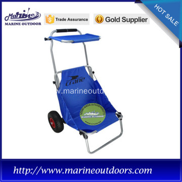 Blue Metal Fishing Chair with Competitive price, sales well in Mexico