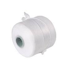 Custom specification semi dull white dyeing tube yarn 50 75 90 100 300 denier polyester twist yarn wholesale