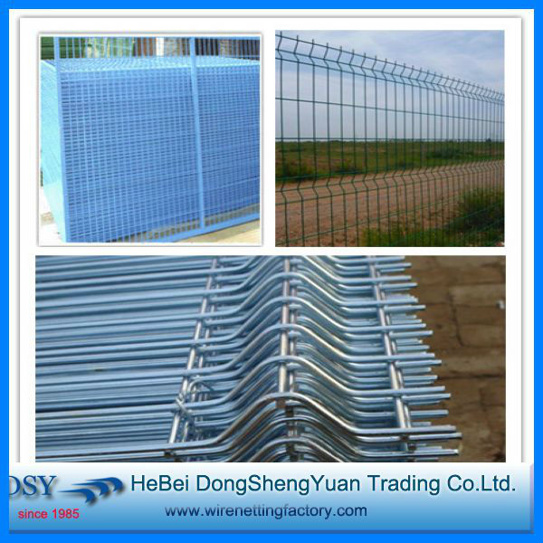 Pvc Coated Galvanized Welded Wire Mesh Fence