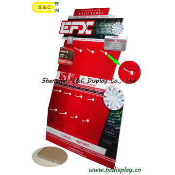 Haken Karton Pop-Papier-Display für Werbung Billboard, Karton-Display, Wellpappe Display, Papier Display Stand