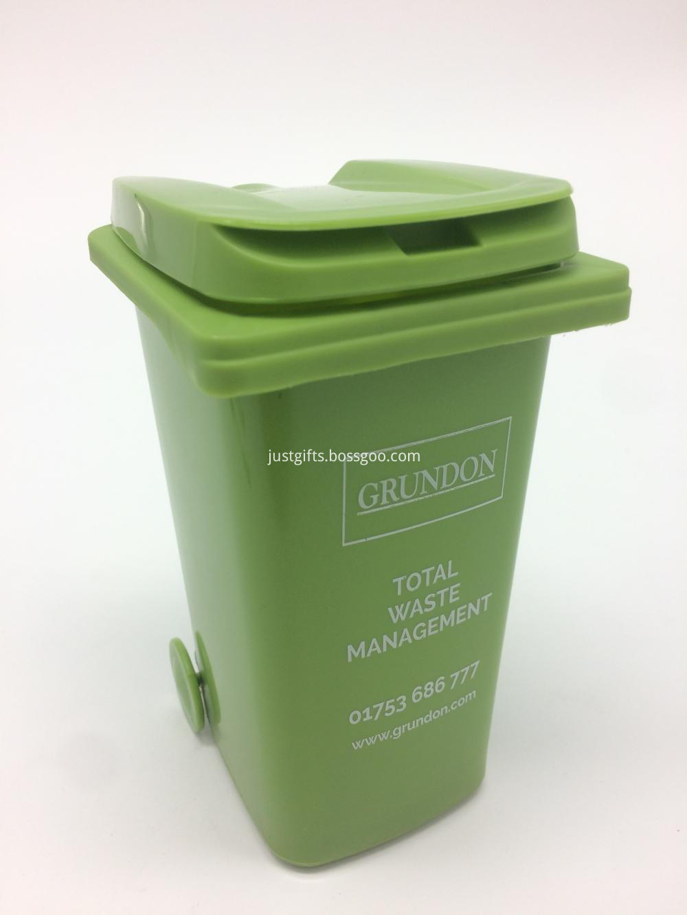 promotional wheelie Bin Pen Pot