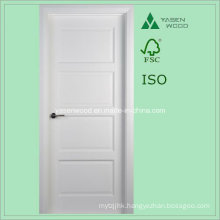 Timber White Color Interior Wooden Door