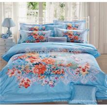 100 algodão tecido edredão capas conjunto de cama e colcha Comprar direto da China Factory