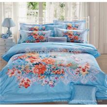 100 хлопчатобумажных тканей одеяло охватывает постельные принадлежности и покрывала купить прямо с завода Китая