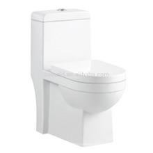 CB-9507 Top-Qualität Keramik-WC-Größen High-End-Siphonic Einteilige Toilette für ältere Menschen