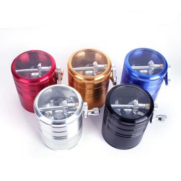Zinc Alloy Metal Grinder for Tobacco Smokeing Wholesale (ES-GD-033)