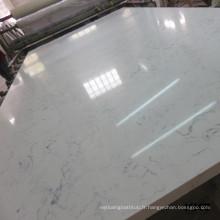 Résistance à la chaleur artificielle pierre de marbre, granit artificiel, carreaux de quartz