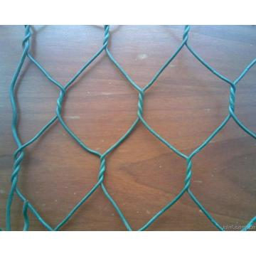 PVC Coated Galvanized Hexagonal Wire Netting