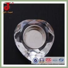 Becautiful Coração De Cristal Chá Luz Candlistick (JD-CH-015)