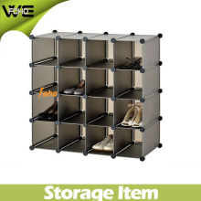 Living Room Furniture Shoe Plastic Storage Display Cabinet Design