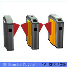 Bus Station Dual Core Semi-Auto RFID Flap Barrier