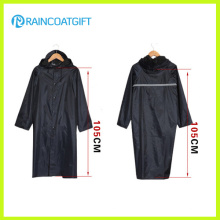 Polyester Reflective Men′s Long Rainwear
