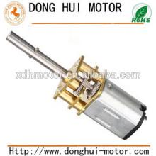 Moteur à engrenages micro dc de 12 mm, moteur à engrenages à courant continu de 6 v pour serrure électronique et serrure de porte, moteur à engrenages en métal de Donghui Motor DGA12-20