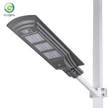 60w todo en uno LED luz de calle solar