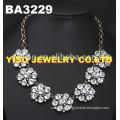 simple design diamond necklace