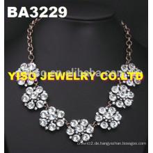 Einfache Design-Diamant-Halskette