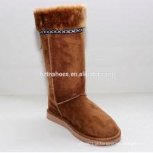 Atacado barato canada inverno mulheres pele botas de neve