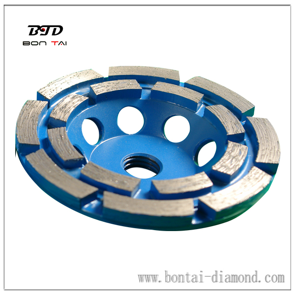 Double Row Cup Wheels for Floor Grinding