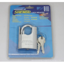 Chrome Plated Shackle Protected Padlock (CSP)