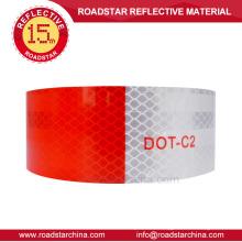 DOT-C2 prismático cinta reflexiva del vehículo