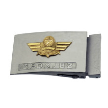 Military style belt buckle for promotion