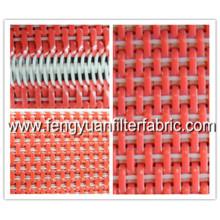 Tecido liso do fio liso de Weave da correia transportadora