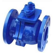 Cast Iron Flanged Ball Valve DIN Pn16