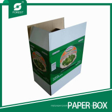 Vegetable Cardboard Packaging Carton Box