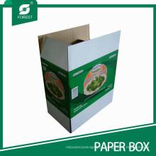Caixa de embalagem de papelão vegetal