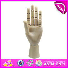 New Product Wooden Artist Hand Model, Flexible Manikin Wooden Hand Model, High Quality Wooden Hand Model W06D042-a