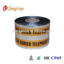 15cm width underground detectable warning tape