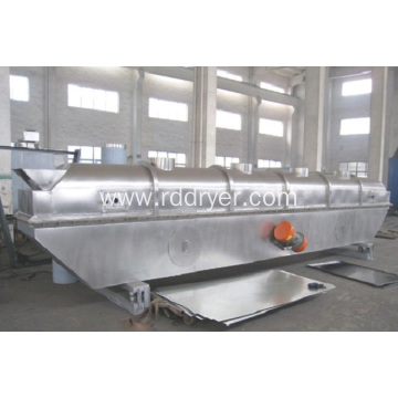 Vibrating fluidized bed dryers of ammonium sulfate